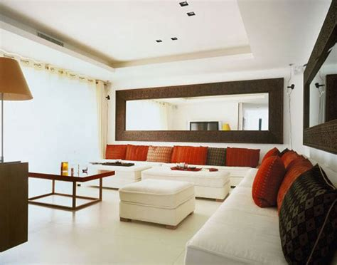 livingroom mirrors spice up your space 20 living room wall decor ideas