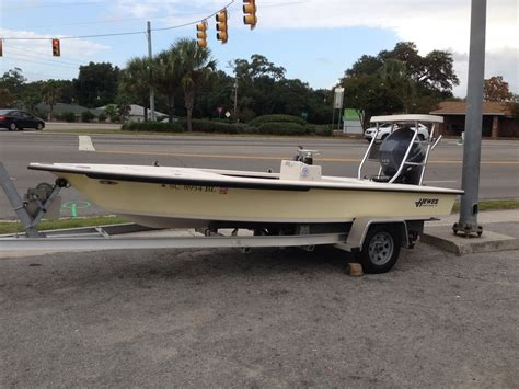 Used Hewes Flats Boats For Sale 2002 2012 18 hewes bonefisher flats boat for sale the