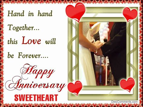 happy anniversary sweetheart desicommentscom