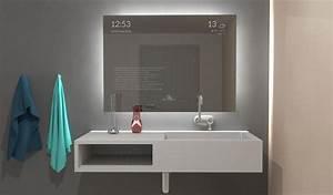 Miroir Salle De Bain Bluetooth : miroir salle de bain bluetooth ~ Dailycaller-alerts.com Idées de Décoration