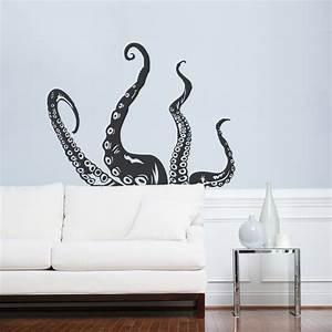 octopus tentacles wall art decal octopus decal tentacles With octopus wall art