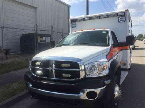 Dodge Ambulance by Dodge Ambulance 2009 Emergency Trucks