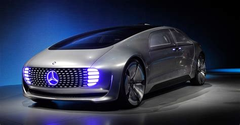 Mercedes-benz Unveils Futuristic Car At Ces