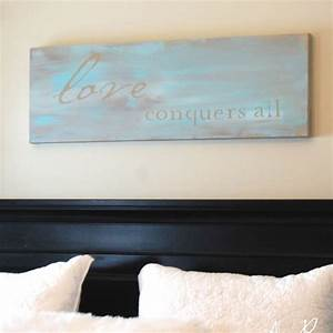 Easy diy wall art tutorial inspirational quote painted