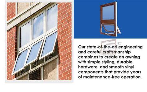 commercial vinyl awning windows newtec windows