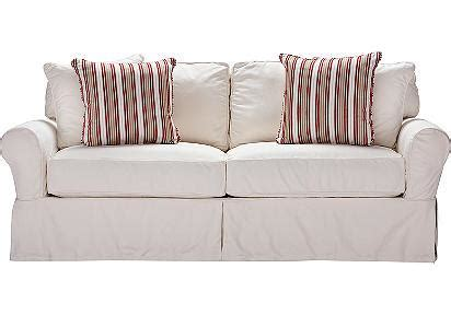 Rooms To Go Loveseat by Home Beachside White Denim Sofa Sofas