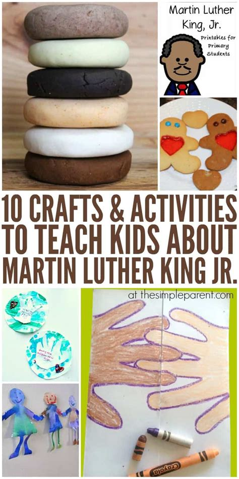 11 educational martin luther king jr activities for 593 | Martin Luther King Day Activities