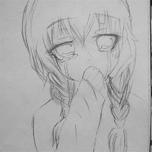 Anime Sad Love Drawing Pictures: Sad Couple Drawing ...