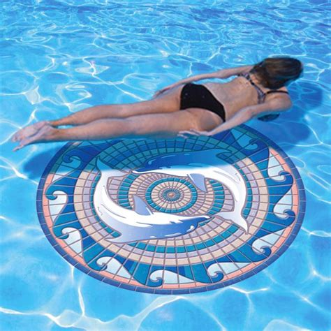 Above Ground Pool Floor Mats by Decorative Swimming Pool Mats