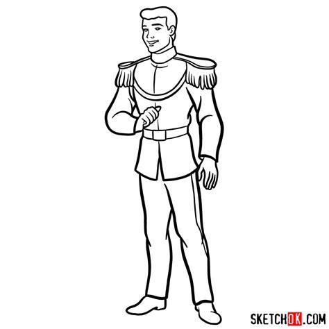 cinderella  prince charming drawing    clipartmag
