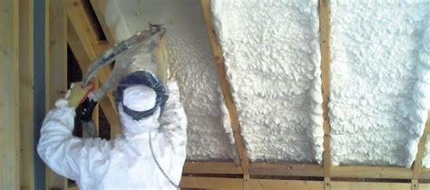 home warm  spray foam loft insulation