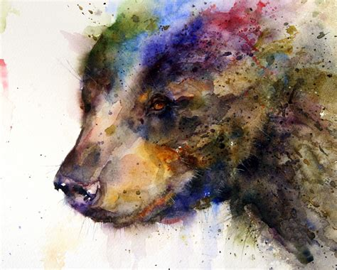 simply creative watercolor animals paintings by dean crouser