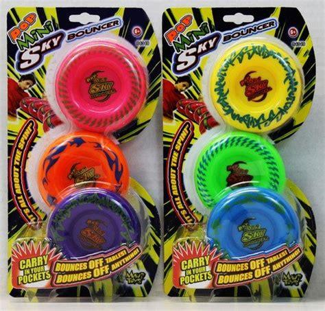 Maui Toys Pop Mini Sky Bouncer Flying Discs Set of 3