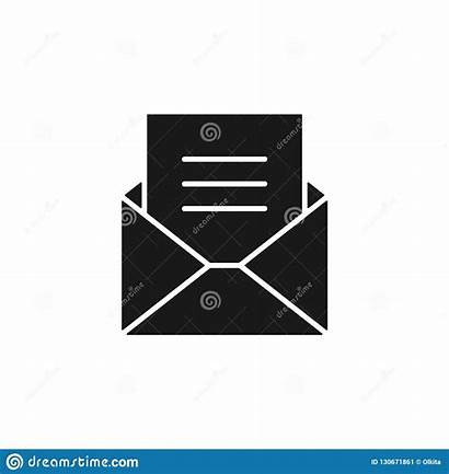 Envelope Background Blank Icon Email Letter Document
