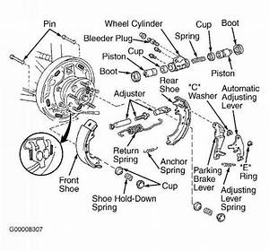 Toyota Brake Pads Diagram Pictures To Pin On Pinterest
