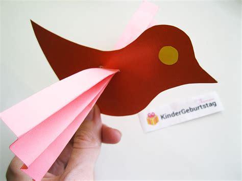 vogel basteln aus papier vogel basteln aus papier einfache anleitung und vorlage vorlagen 365