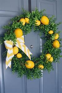 Summer, Lemon, Wreath, U2013, A, Diamond, In, The, Stuff