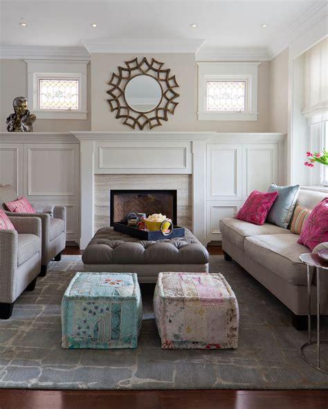 Living Room Poufs by Pouf Best Decor
