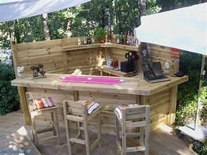 Salon De Jardin Palettes : salon de jardin en palette table basse en palette luxury ~ Farleysfitness.com Idées de Décoration