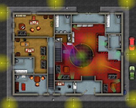 modern nightclub bar rpg map taverns rpg maps