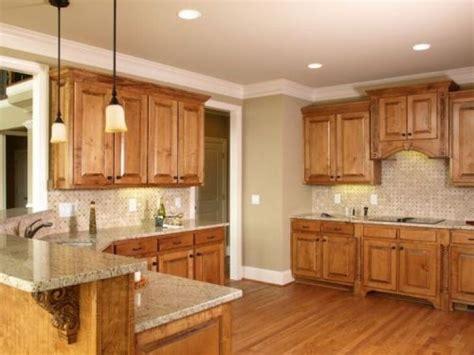 paint colors  honey oak tuscan kitchen design