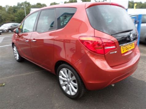 vauxhall orange used orange vauxhall meriva for sale dumfries and galloway