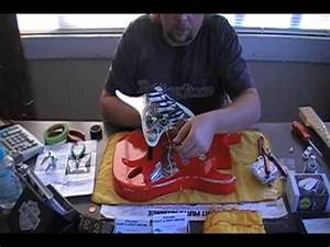 How To Relic Your Guitar Peavey Predator Part 5 Wiring And
