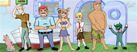 Spongebob Squarepants Characters Humanized By