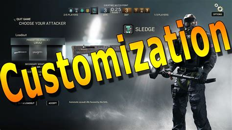 siege v駘o a look at customization rainbow six siege closed beta