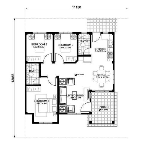 modern bungalow house   floor plans  firewall