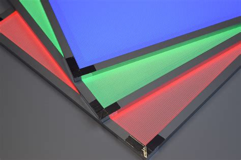 rgb led light panels custom rgb led light panels