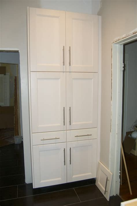 Tall White Kitchen Pantry Cabinet  Home Furniture Design