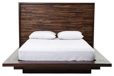 King Platform Bed With Tufted Headboard by Bed Frame To Complete Your Bedroom Decohoms