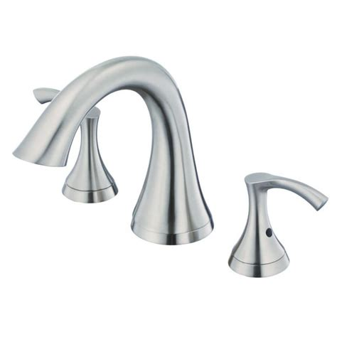 Brushed Nickel Tub Faucet by Danze Antioch Brushed Nickel 2 Handle Deck Mount