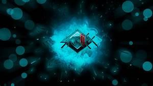 Cyan Skrillex Wallpaper By BlueDragonHans On DeviantArt