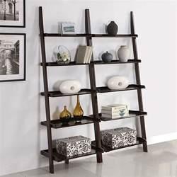 oak kitchen carts and islands leaning bookshelf ladder bookcases home decorator shop