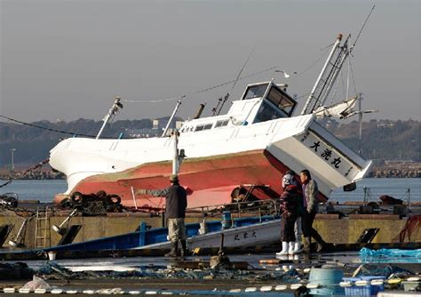 Fishing Boat Disasters by Japan Boat Side Of The Disaster The Hull