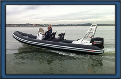Safety Boat Qualification by Rya Powerboat Courses Solent Boat