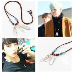 gold feather earrings bts bangtan boys suga gold silver feather
