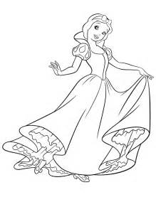Snow White Coloring Pages Printable