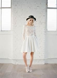 La Mariée Aux Pieds Nus : robe de mariee civile courte robe de mariage civil pas ~ Melissatoandfro.com Idées de Décoration