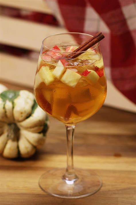 fall sangria tasty fall sangria perfect for a fall cocktail party tasty happy hour pinterest apple