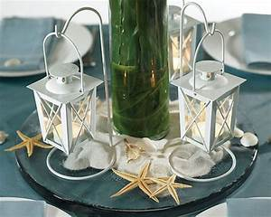 tbdress blog attractive beach themed wedding centerpieces With beach wedding table decorations