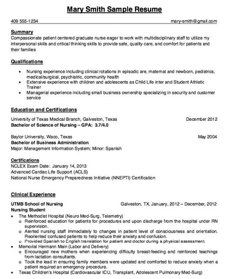 17 best ideas about rn resume on student