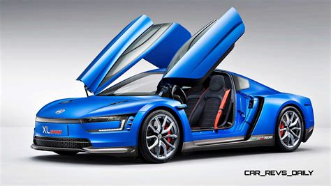Sports Car Makes by 2014 Volkswagen Xl Sport Concept Makes One Seriously