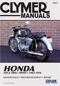 Honda Cb  Cl450  U0026 Cb500t Motorcycle  1965
