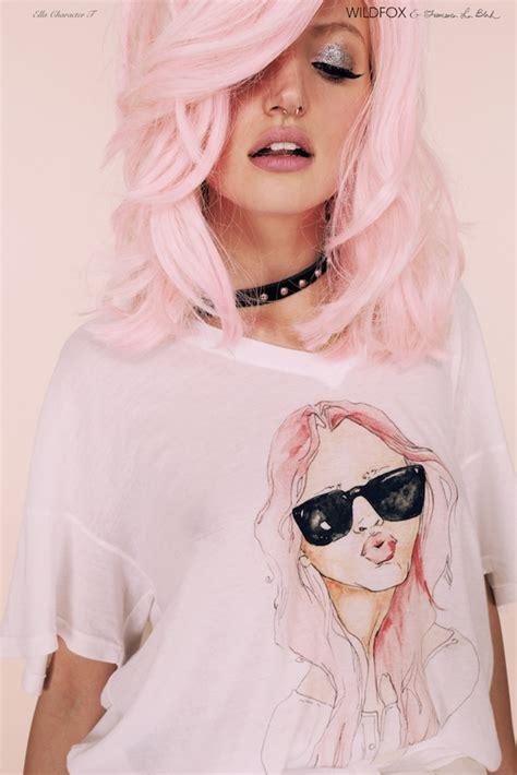 pastel hair colors zilah inolvina pastel hair dye diy