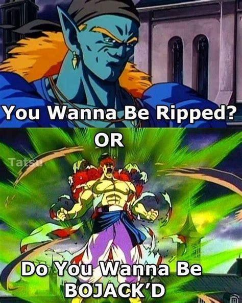 Dbz Memes - dbz meme ripped or bojack d dragonball z memes pinterest meme