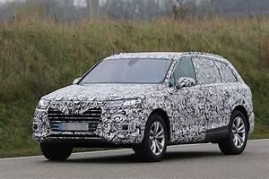 Audi Q7 Interieur : spyshots int rieur et phares de l audi q7 2015 4legend ~ Nature-et-papiers.com Idées de Décoration