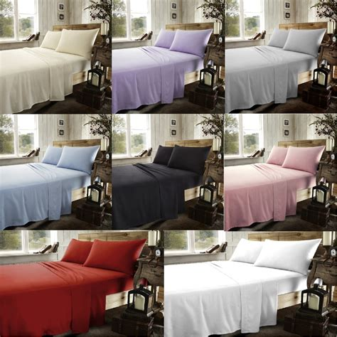brushed cotton flannelette fitted sheets thermal flannel